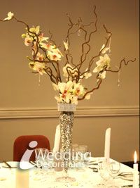 60 best Wedding twigs centerpieces images on Pinterest | Wedding ...