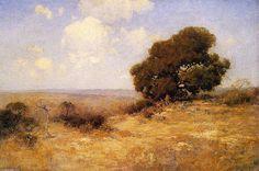 Misty Morning de Robert Julian Onderdonk (1882-1922, United States)