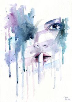 Shhhh... by Cora-Tiana.deviantart.com on @DeviantArt