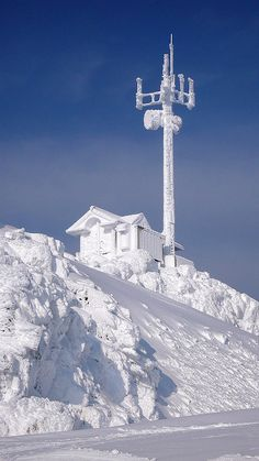 whistler's summit - top of peak chair - 2,284 metres/7,494 feet by millardog, via Flickr #whistler