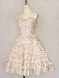 Victorian maiden コットンギャザーアンダードレス