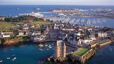 St Malo, Brittany, where the #RouteDuRhum begins every four years in November.  www.vcmetalwork.com #metalwork for #superyachts