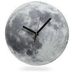 ThinkGeek :: Light Up Moon Clock