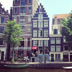 Amsterdam is amazing in summer time. #240routeNL