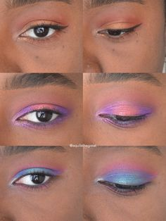 3 Eye looks using Juvia's Place Masquerade Palette CCW (x-post from r/brownbeauty)