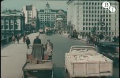 Rare Color Video Of London In 1927
