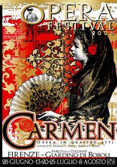 Opera Poster Gallery carmen