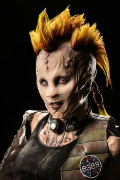 Face Off – Cosmic Circus Tate & Frank, Closeup Face Off Makeup, Scary Makeup, Sfx Makeup, Face Off Syfy, Special Effects Makeup Artist, Monster Makeup, Silicone Masks, Special Makeup, Art Articles