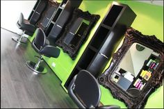 This hair salon proves that traditional and modern can work together! www.exclusivemirr...
