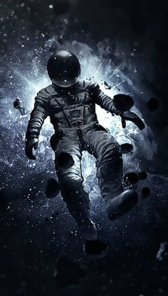 Galaxy Wallpaper, Mobile Wallpaper, Wallpaper Backgrounds, Iphone Wallpaper, Astronaut Wallpaper, Floating In Space, Poster Print, Major Tom, Astronauts In Space