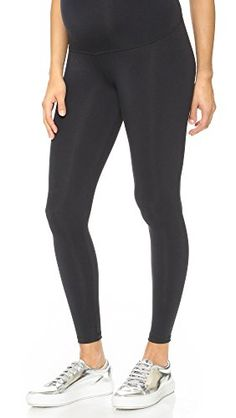 1219227f86 David Lerner Women s Maternity Leggings  These jersey maternity leggings  feature a belly panel. Non-elastic waistband provides added comfort.