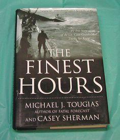USCG US Coast Guard Sea Rescue The Finest Hours Touglas Book HBDJ True Story