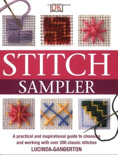 Booktopia has Embroidery Stitches Step-by-Step by Lucinda Ganderton. Buy a discounted Hardcover of Embroidery Stitches Step-by-Step online from Australia's leading online bookstore. Bargello Patterns, Bargello Needlepoint, Needlepoint Stitches, Needlework, Ribbon Embroidery, Cross Stitch Embroidery, Embroidery Patterns, Plastic Canvas Stitches, Plastic Canvas Patterns