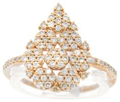 GLK 14K ROSE GOLD 0.534CT DIAMOND PEAR SHAPED RING SIZE 7. Get the lowest price on GLK 14K ROSE GOLD 0.534CT DIAMOND PEAR SHAPED RING SIZE 7 and other fabulous designer clothing and accessories! Shop Tradesy now
