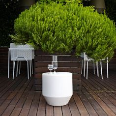 Soixante 3 by Thomas Rodriguez . An elegant occasional table for outdoor or indoor use. Live Beautifully! www.lignerosetsf.com #LigneRosetSF #Interior #Design #LigneRoset #Home