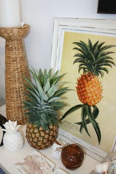 Pineapple love at www.coastalhome.com.au