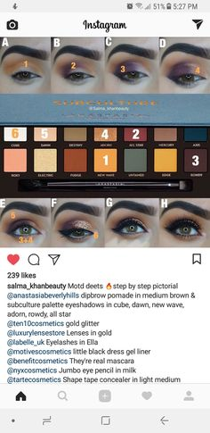 41 best ideas for eye shadow palette anastasia subculture Palette Anastasia, Anastasia Makeup, Anastasia Subculture Palette, Anastasia Bh, Makeup Inspo, Beauty Makeup, Hair Makeup, Makeup Ideas, Makeup Palette