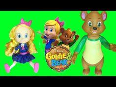 Disney Junior Goldie & Bear Posable Toy Dolls | LittleWishes - YouTube