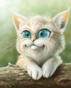 Картинки по запросу смешная морда кота рисунок