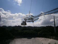 The Arecibo Observatory And The Rio Camuy Caves In Puerto Rico