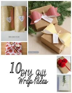 10 DIY Gift Wrap Ideas | eBay