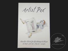 Bloc de desen si schite AMI- 170g/m2- A2. Blocuri desen. Creative, Artist, Books, Sketches, Libros, Book, Book Illustrations, Libri, Artists
