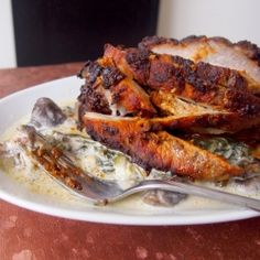 Oven-Barbecued Pork Ribs recipe