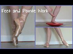 Feet & Pointe Work Strengthening Exercises--- really good video! Ballet Body, Ballet Feet, Pilates, Ballet Barre Workout, Ballet Stretches, Foot Exercises, Dance Technique, Dance It Out, Dance Stuff