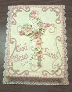 Cakes for Religious Occasions | Cross on Cake