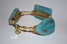 Made With Love: Light Teal Bangle – Winsome Hanger