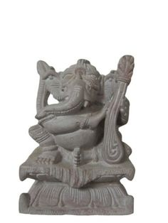 Decorative Ganesha Sculpture Hindu Art , Ganesha Spiritual Stone Statue Yoga Decor 4 Inch by Mogul Interior, http://www.amazon.com/dp/B00CNZ38NG/ref=cm_sw_r_pi_dp_T2fJrb084ZMSZ