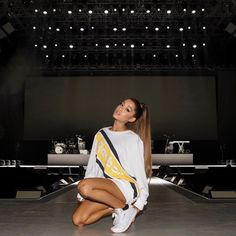 "2.6m Likes, 29.9k Comments - Ariana Grande (@arianagrande) on Instagram: ""Confidence, self belief and self expression ♡ I am proud to partner with @Reebok who has the same…"""