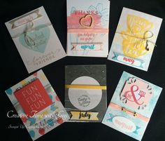 "A Stampin' Up! project using Project Life ""Memories in the Making"" Card Collection and Accessories.  This is a fun project that puts a spin on the Project Life cards."