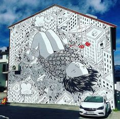 Bodø, Norvegia: nuovo pezzo dello street artist italiano Millo.