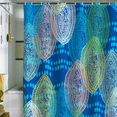 TANDOORI COOL Shower Curtain For DENY Designs By Khristian A Howell Art Cool
