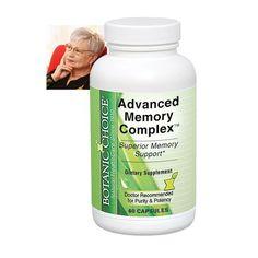 ADVANCED MEMORY COMPLEX FORMULA | Better Senior Living