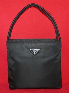 Authentic  Prada Tessuto Nylon Black City Tote Shoulder Bag Handbag Purse    eBay   Handbags   Handbags, Purses, Prada 20134b474a