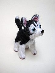 amigurumi crochet husky - Google Search