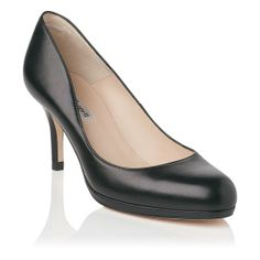 LK Bennett Sybila Leather Platform Heel