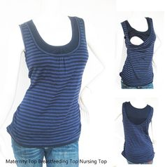 ELLE Maternity Clothes Nursing Tops by ModernMummyMaternity