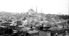 Yeni Cami üstünden Süleymaniye ve Topkapı
