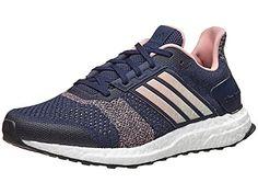 66fc2bc6649 Adidas Ultra Boost ST Running Shoe - Women s Energy Blue Easy Green Linen  Green