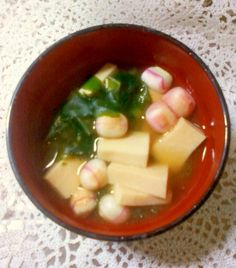「☆*:・☆高野豆腐とわかめの味噌汁☆*:・☆」即席で作れる味噌汁です。お豆腐が無い時の代用にもどうぞ♪【楽天レシピ】