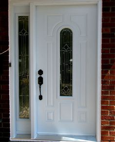 Single Door with Inserts