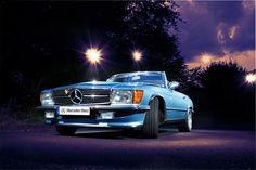 """""""Silverarrow"""" Mercedes SL Typ R107"""