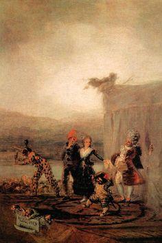 Francisco de Goya - Los Cómicos Ambulantes