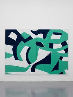 Carla Accardi, Sole Annuvolato, 2011, vinyl on canvas, 200x280 cm