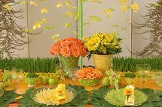 Preston Bailey.com / place settings, table setting,flowers,wedding centerpieces,bouquets,arrangements