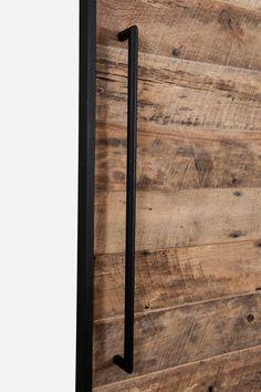 Authentic Buffalo Barn Doors Modern round barn door handle