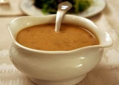 Two easy gravy recipes with photos and step-by-step instructions.